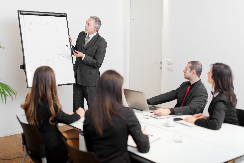 Business management system for team leadership
